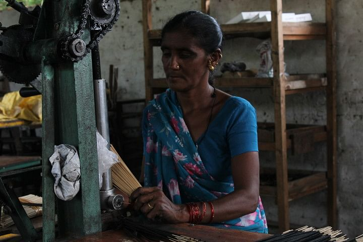 Woman at Paldi-Kankaj