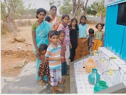 I am pledging my birthday to clean water at 20 paise per litre for rural families