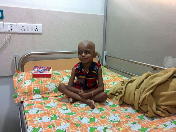 I am pledging humanity to help 3 year old Rahul fight leukemia