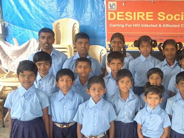 I am fundraising to support children infected with HIV AIDS in Bangalore. Every support makes difference!