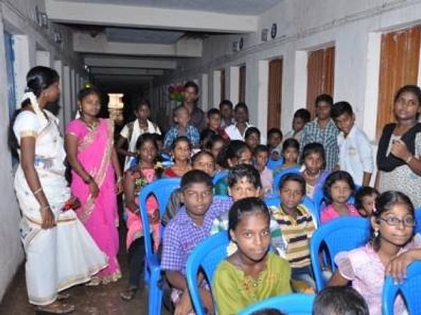 I am running the Bengaluru marathon to build a new learning center in Ezhil Nagar slum area of Chennai.