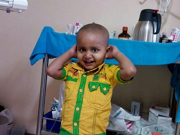 I am raising fund for my Son Yash's bone marrow transplant