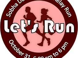 We are fundraising towards Sobha Daisy 12 Hour Relay Run 2015