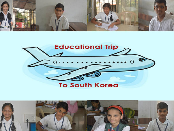 The wish of our children to fly abroad will only be accomplished with your grateful help.