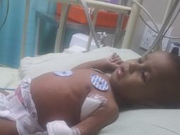 I am pledging my birthday to save my five month old baby