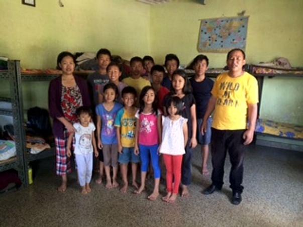 Educating Grace Home Children
