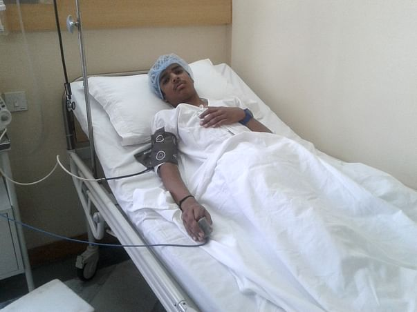 I am fundraising to help Ankit fight blood cancer