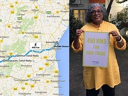 Go Push Go- 450 Kms for Climate Justice and Fairtrade