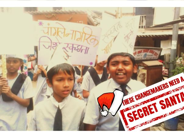 Transform children from vulnerable backgrounds into changemakers. Join me as a Secret Santa!