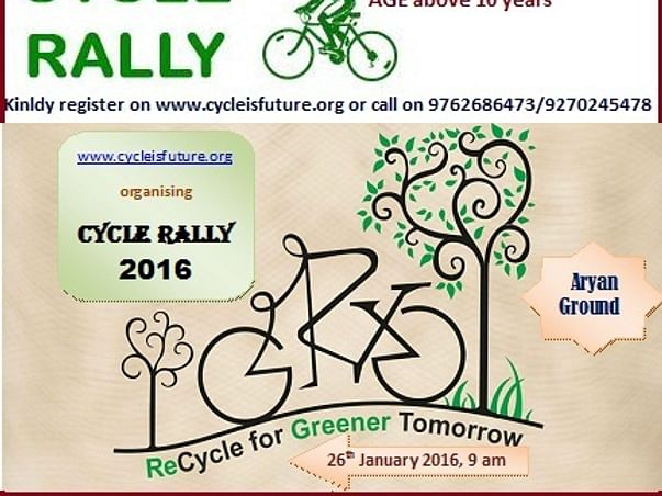 I am fundraising for cycle rally at Palghar