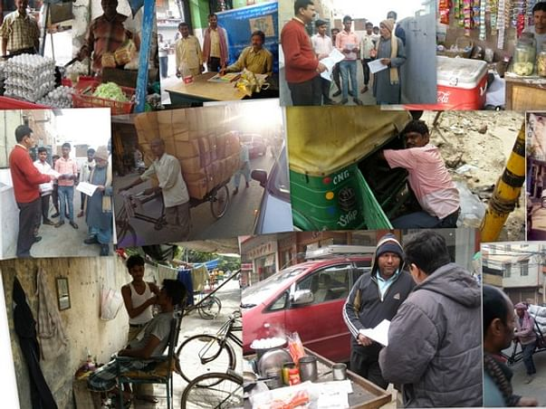 I am fundraising to making financially challenged urban poor count by creating hope  self reliance