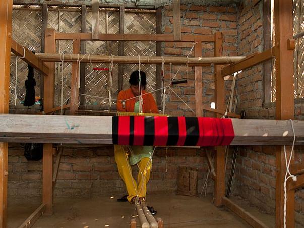 I am fundraising to support women weavers of Sualkuchi silk village
