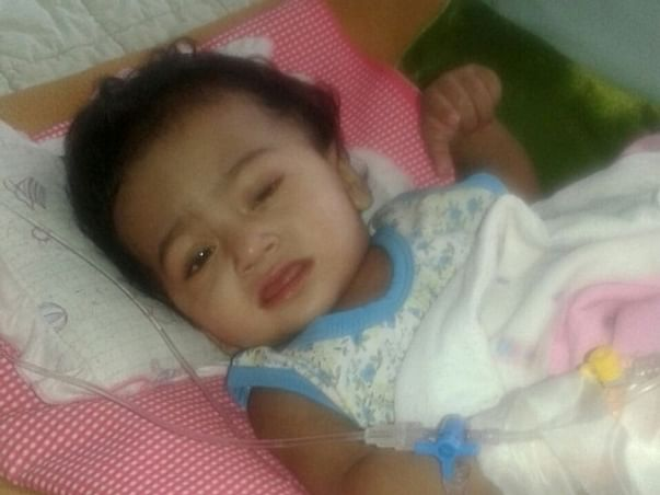 Help this little child in fighting a rare disease!