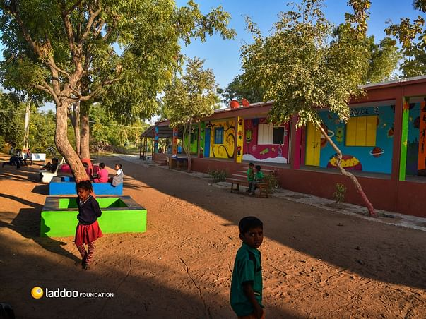 Making Schools Beautiful And Students Cheerful: Laddoo Foundation