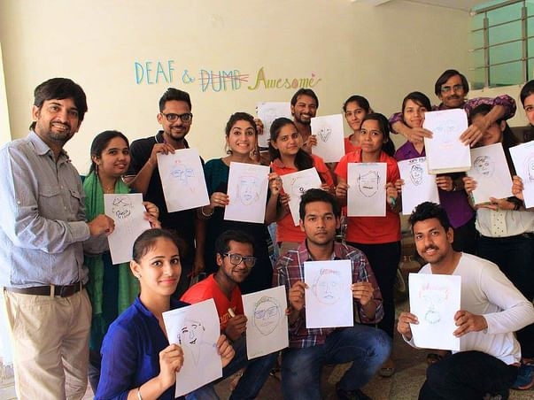 Support this training center for deaf students