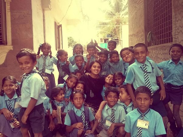 My kids need a classroom and toilets. And we need your help