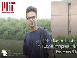 Help a Student Entrepreneur to reach MIT