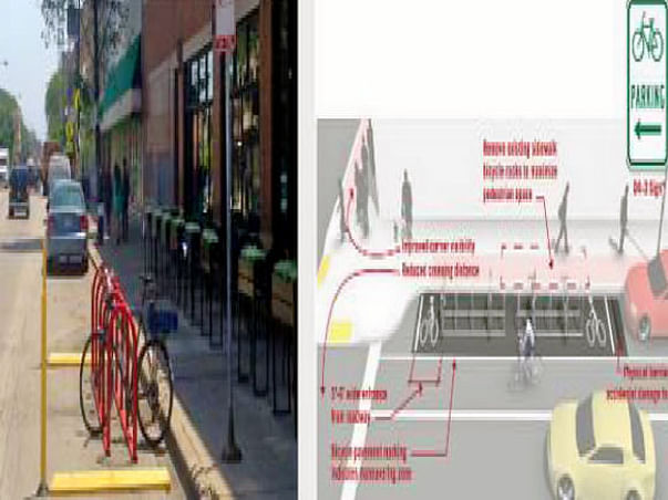 Bengaluru Marathon: Multiple Cycle Parking Facilities, HSR Layout
