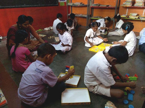 Bengaluru Marathon: Educational Support for children, Malleshwaram