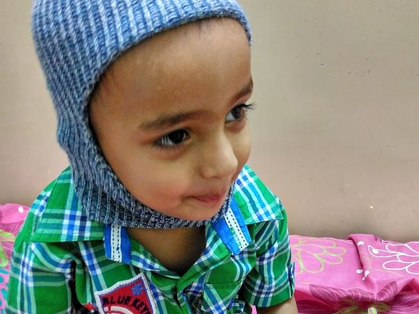 Help 3 year old Naveed fight cancer