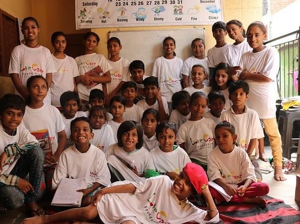 Help us to Re-construct a new School for 250 Children in Greater Noida
