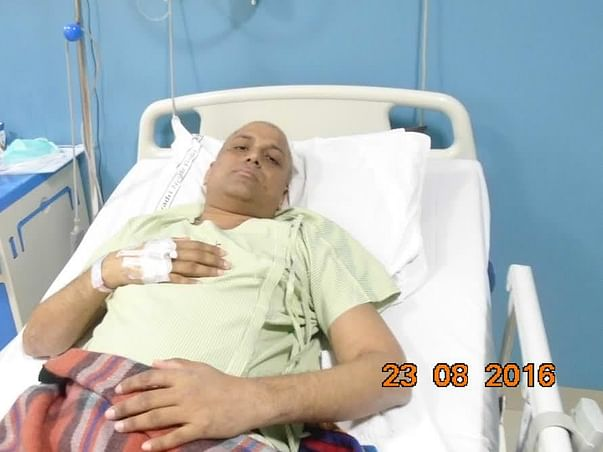 Help Nitesh Fight Blood Cancer