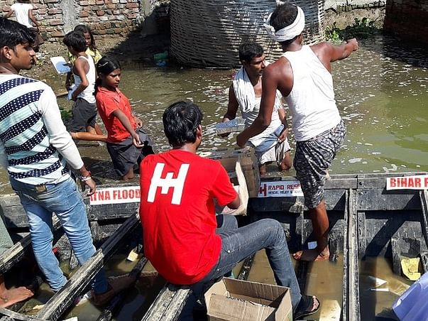 Food for Flood Victims in Bihar