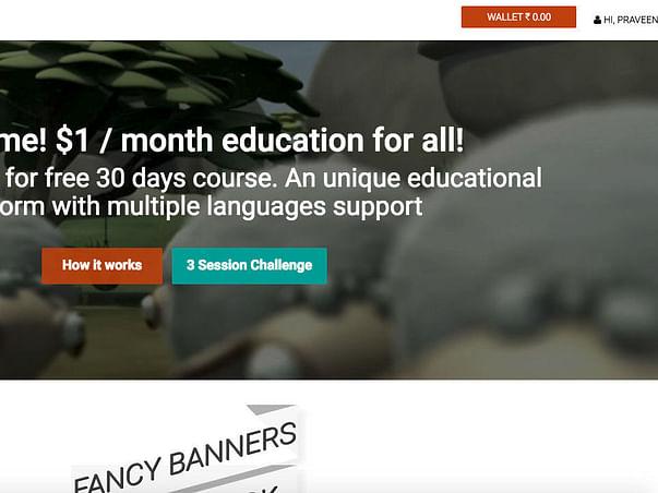 Competopedia.com - $1 education per month for rural, suburban & urban