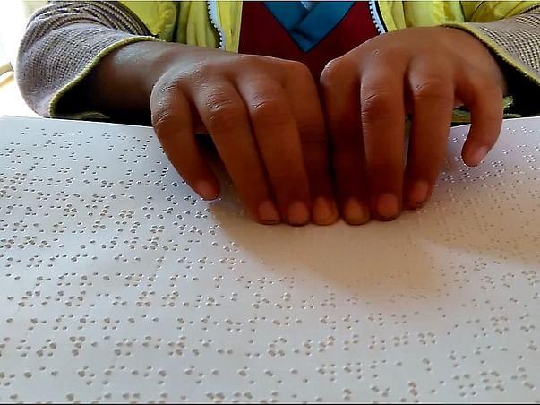 Donate for Braille Books - Help Blind children read!