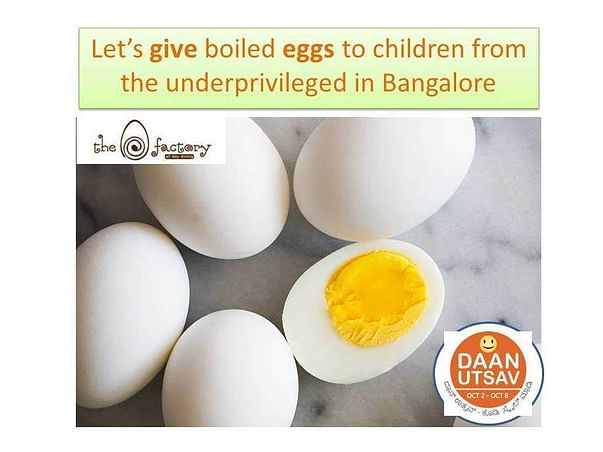 Help us feed 100,000 children with eggs on World Egg Day