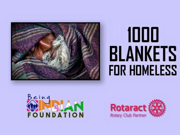 Blankets  For 1000 Homeless