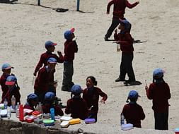 1st  Book Bank @ 11,500 ft in Ladakh