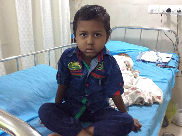 Help 5-year-old Rehaan fight a rare cancer