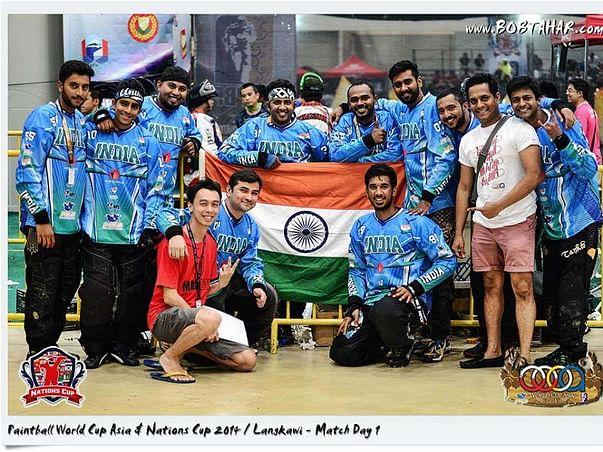Indian Paintball Team