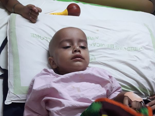 Help Ved undergo a bone marrow transplant