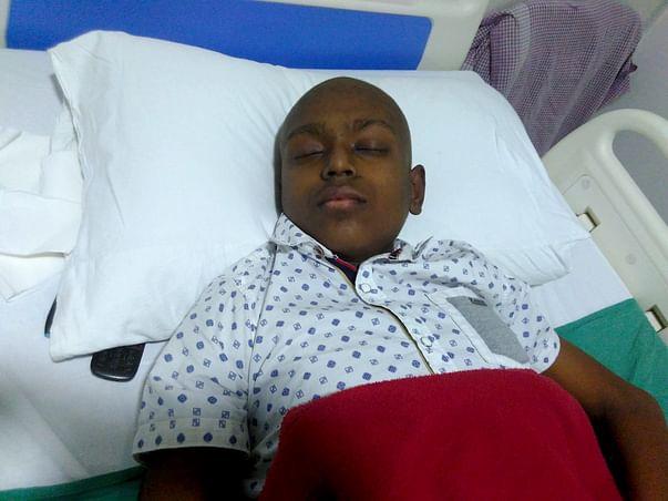 Help Rhitik Get Treatment For Bone Cancer
