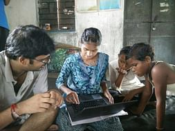 Educate children of Bedhi-Gram village
