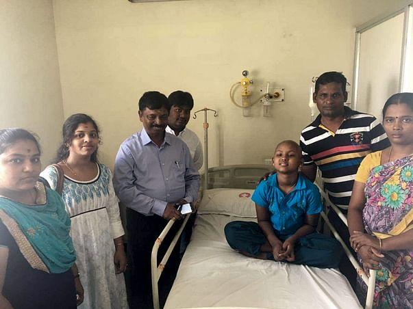 Help Madhumitha Fight Acute myelogenous Leukemia