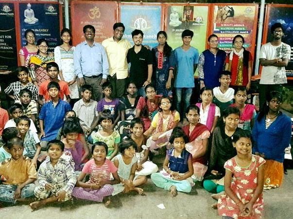 New clothes for 100 kids this Diwali