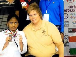 world karate champion ( 9 years Girl )