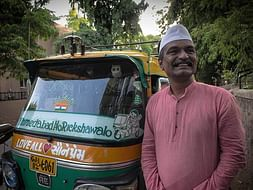 "Ahmedabad no Rickshawalo – Personifying ""Love All, Serve All"""