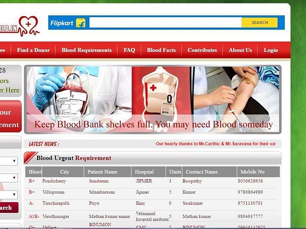 Help to Re-design of www.bloodworld.in website and Develop Android APP