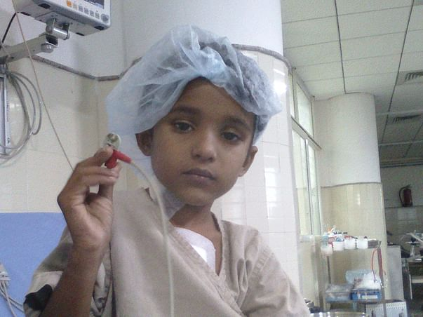 Help This child in need ,having hole in heart,needs a heart surgery.