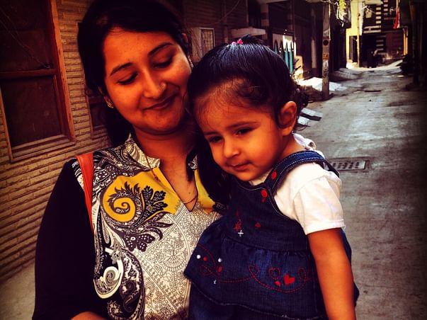 Aanya's second cochlear implant