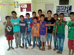 I am fundraising to help street children reclaim their childhood