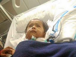 Help 15-Month-Old Mokshith Fight Pneumonia