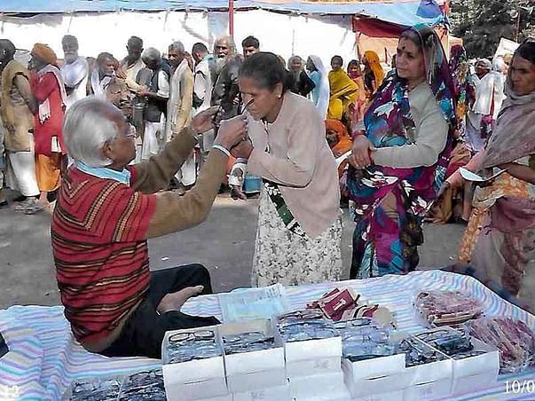Health Camp for Gangasagar Pilgrims