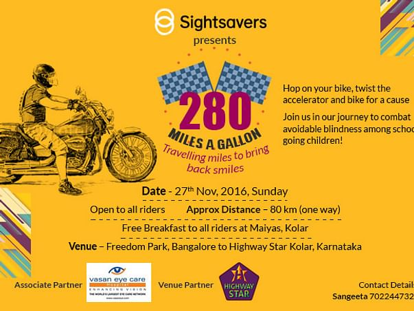 """""""280 Miles A Gallon"""" - Ride for a Cause"""