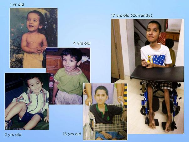 Help Abhay fight a genetic disorder: Duchenne Muscular Dystrophy (DMD)