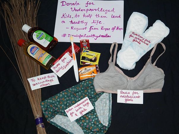 Gift Hygiene Kits To Kids Of Ashramshala